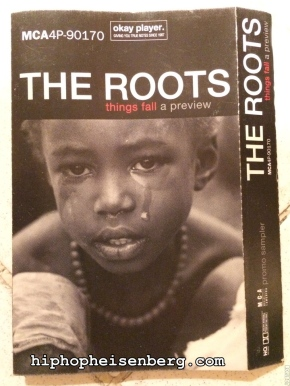 THINGS FALL APART 15TH ANNIVERSARY: THE ROOTS – things fall a preview (1999) PROMO CASSETTE MIXED BY DJ JAZZY JEFF
