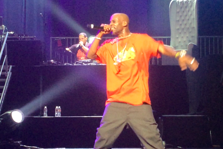 DMX Performs Live At Nokia Theatre